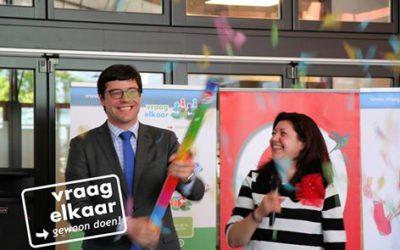 Wethouder Klein van Den Haag geeft startsein