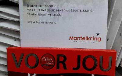 Attentie voor leden Mantelkring