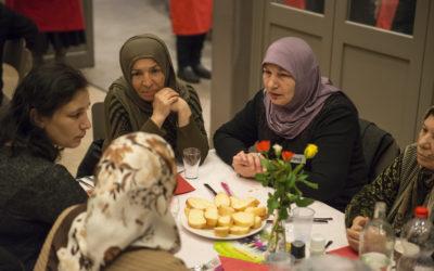 Diner migranten mantelzorgers groot succes