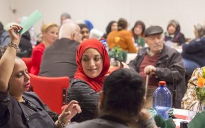 Migranten mantelzorgers bijeen voor diner