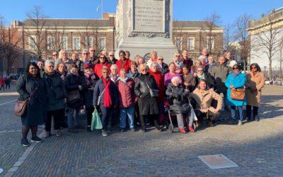 Zonnige stadswandeling in Den Haag