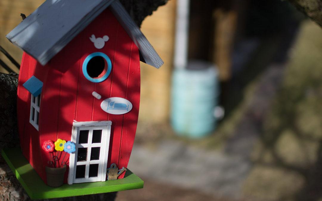 Vogelhuisjes maken in de Creatieve Salon